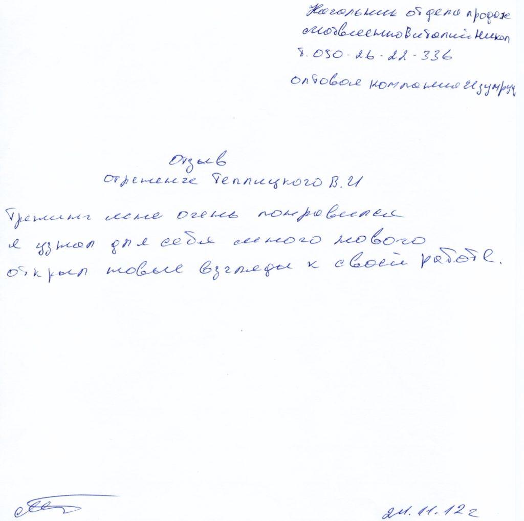 otzyiv-про-підготовки-нмг циклу-нечистий-смарагд-мотвіенко-Віталій